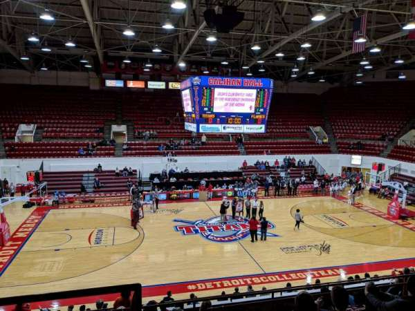 Calihan Hall, section: 12, row: 8, seat: 31