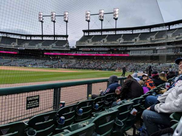 Comerica Park, section: 138, row: C, seat: 13
