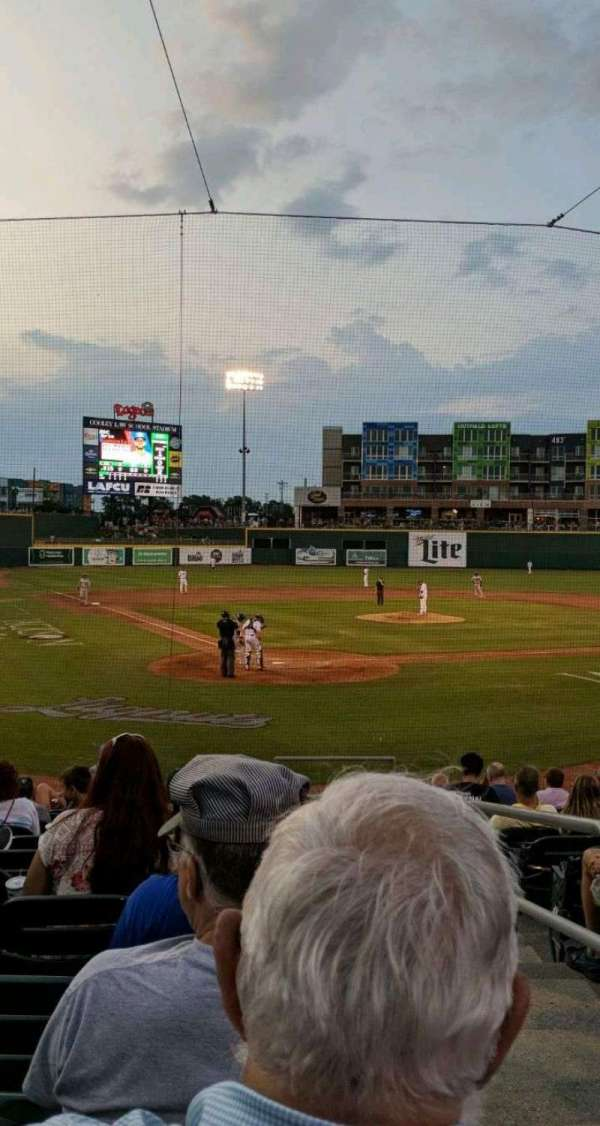 Cooley Law School Stadium, section: G, row: 15, seat: 1