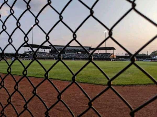 Jimmy John's Field, section: Drink Rail, row: Outfield