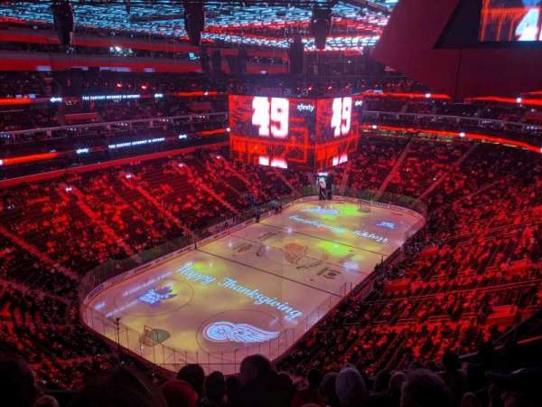Little Caesars Arena, section: 231, row: 7, seat: 16