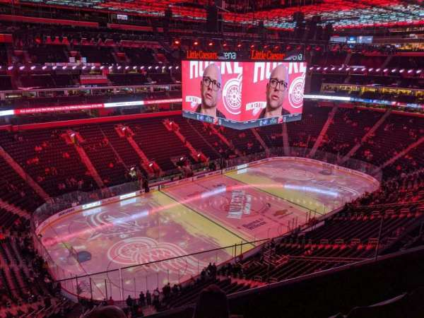 Little Caesars Arena, section: 215, row: 3, seat: 6