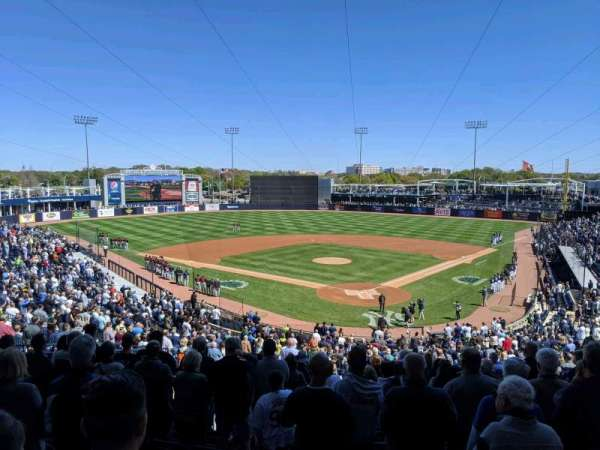George M. Steinbrenner Field, section: 212, row: O, seat: 12