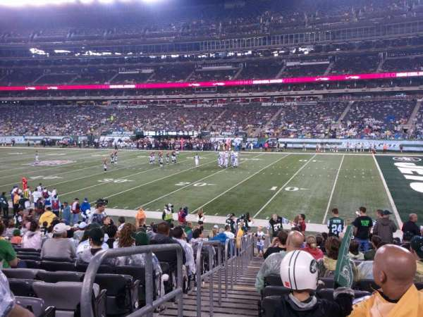 MetLife Stadium, section: 110, row: 11, seat: 11
