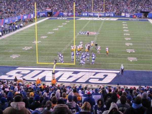 MetLife Stadium, section: 101, row: 45, seat: 3