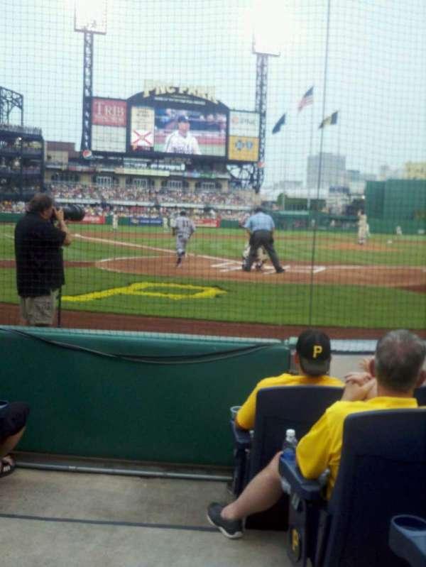 PNC Park, section: 15, row: e, seat: 6
