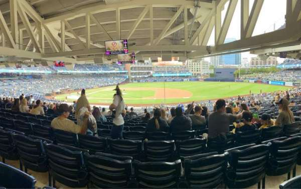 PETCO Park, section: 109, row: 45, seat: 9