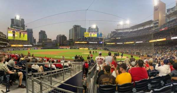 PETCO Park, section: 106, row: 18, seat: 14