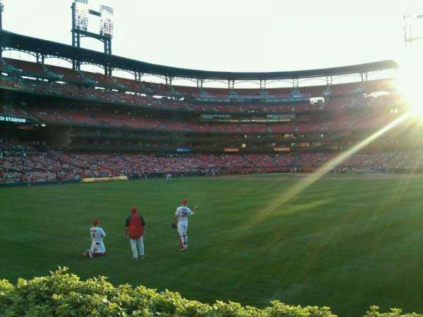 Busch Stadium, section: 503, row: 2, seat: 6