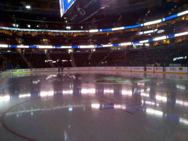 Amalie Arena, section: 128, row: A, seat: 12