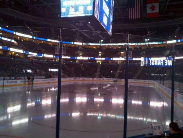 Amalie Arena, section: 122, row: A, seat: 12
