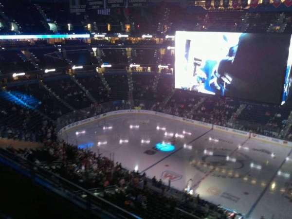 Amalie Arena, section: 329, row: C, seat: 11