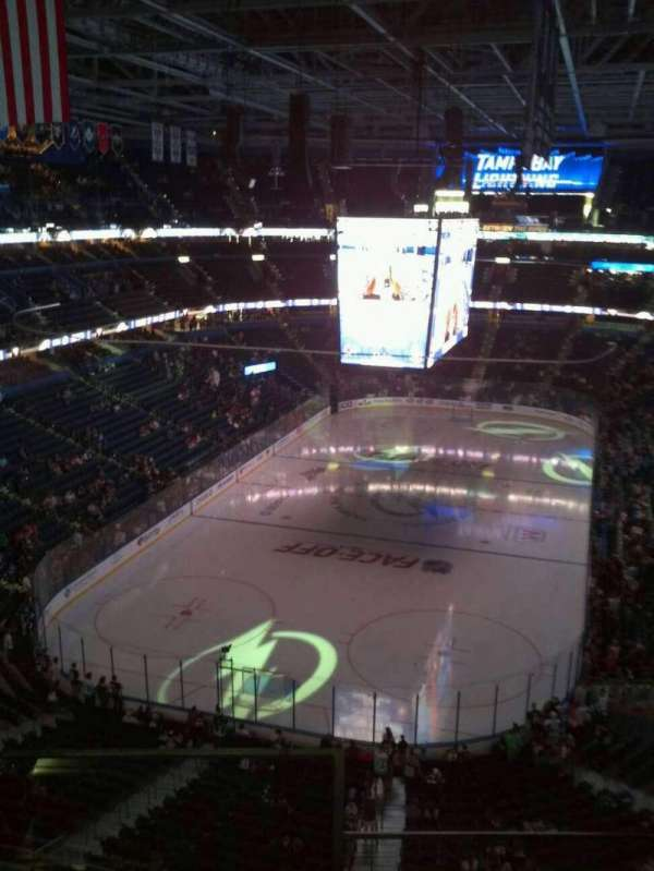 Amalie Arena, section: 307, row: C, seat: 12