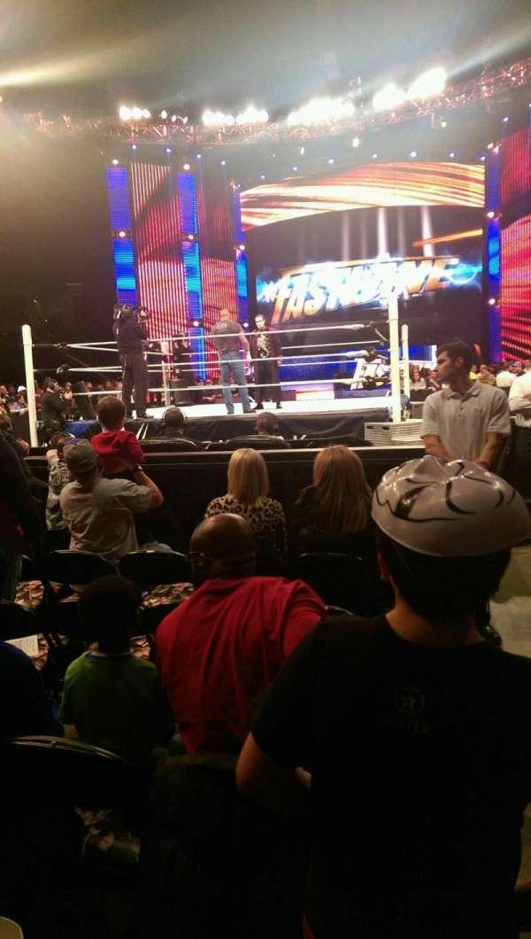 FedEx Forum, section: FL 3, row: F, seat: 1