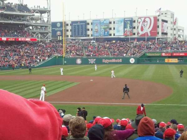Nationals Park, section: 131, row: BB, seat: 11