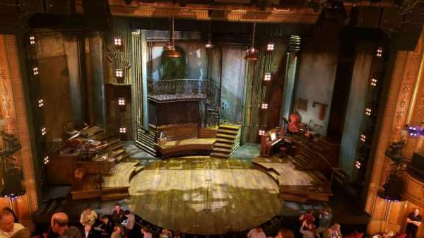 Walter Kerr Theatre, section: mezzanine c, row: F, seat: 110