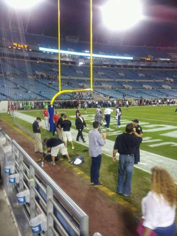 TIAA Bank Field, section: 147, row: A, seat: 8