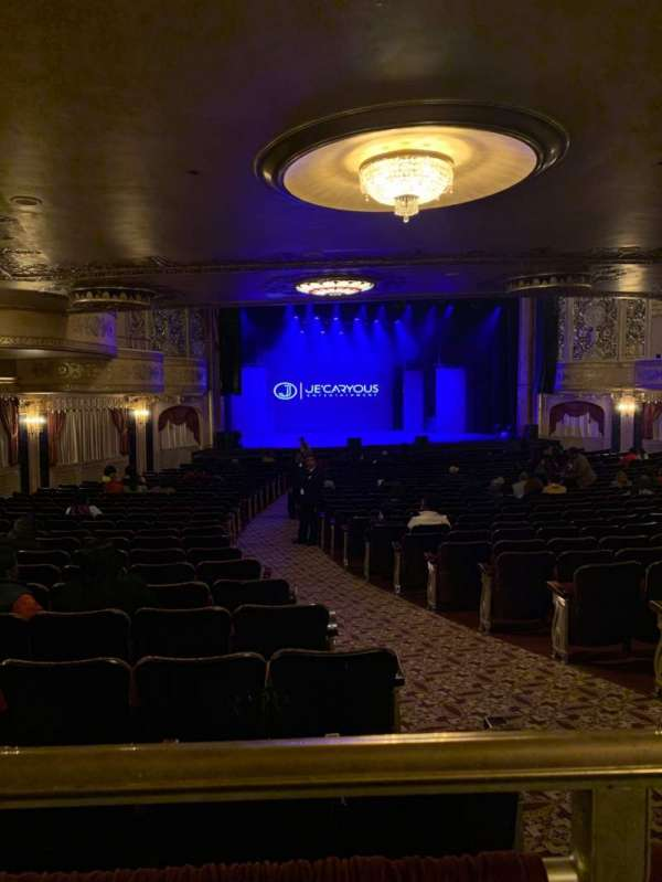 Warner Theatre (Washington, D.C.), section: Orch, row: Z, seat: 7
