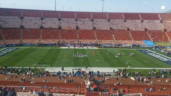 Los Angeles Memorial Coliseum, section: 7L, row: 65, seat: 1
