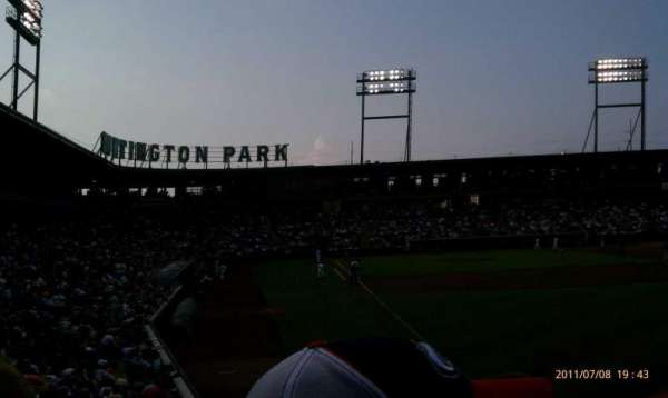 Huntington Park, section: 1, row: 15, seat: 7
