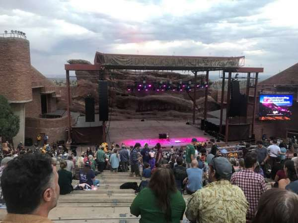 Red Rocks Amphitheatre, section: N/A, row: 27, seat: 98