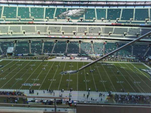 Lincoln Financial Field, section: 201, row: 6, seat: 1