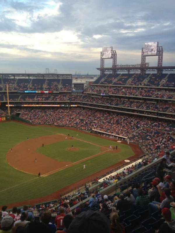 Citizens Bank Park, section: 430, row: 13, seat: 20