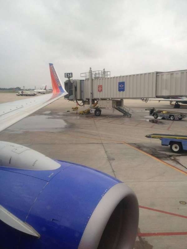 Southwest Airlines, row: 5, seat: A