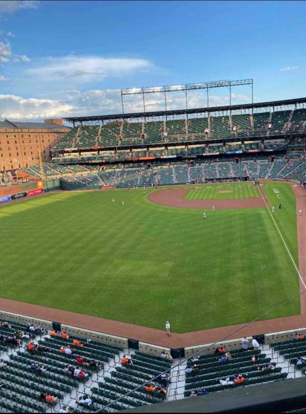 Oriole Park at Camden Yards, section: 380, row: 1, seat: 19