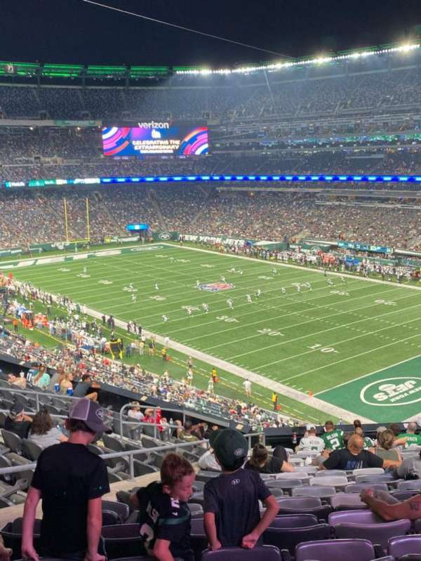 MetLife Stadium, section: 207a, row: 13, seat: 10