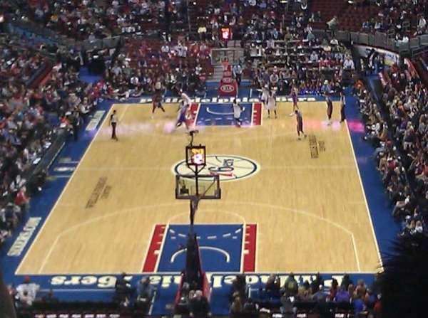 Wells Fargo Center, section: 207A, row: 2, seat: 6