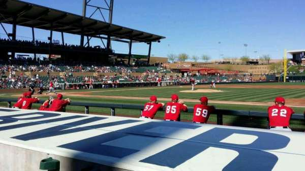 Salt River Fields, section: 106, row: 6, seat: 10