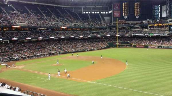 Chase Field, section: 203, row: 11, seat: 1