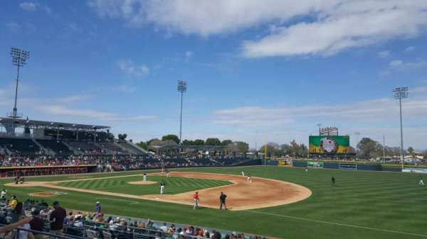 Hohokam Stadium Home Of Chicago Cubs Mesa Solar Sox