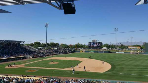 HoHoKam Stadium, section: 217