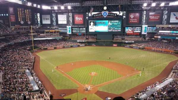 Chase Field, section: 315, row: 13, seat: 14