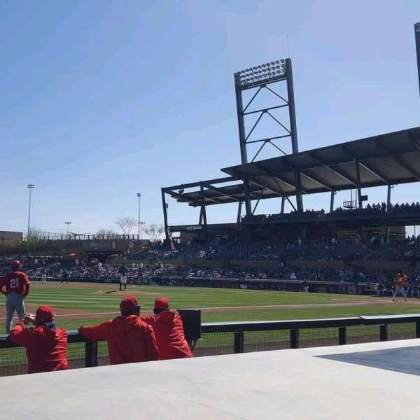 Salt River Fields, section: 119, row: 5, seat: 1
