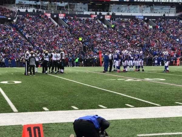 Highmark Stadium, section: 115, row: 1, seat: 3