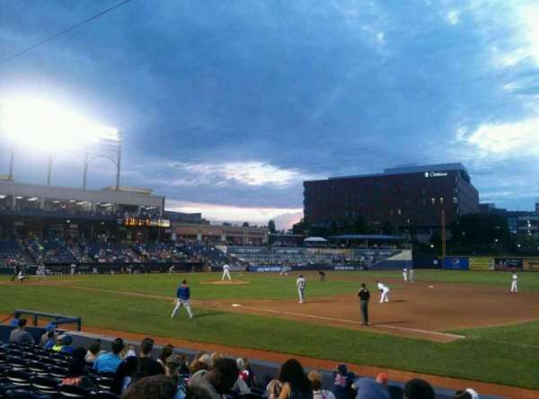 Canal Park, section: 5, row: J, seat:  2