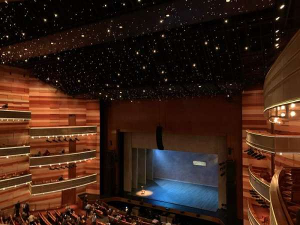 Eccles Theater, section: 2TR, row: D, seat: 129