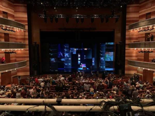 Eccles Theater, section: 1TR, row: A, seat: 111
