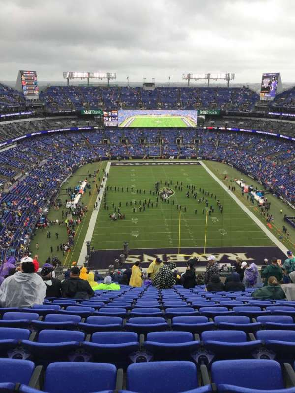 M&T Bank Stadium, section: 514, row: 25, seat: 12