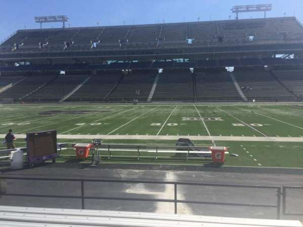 Bill Snyder Family Stadium, section: 6, row: 6, seat: 27