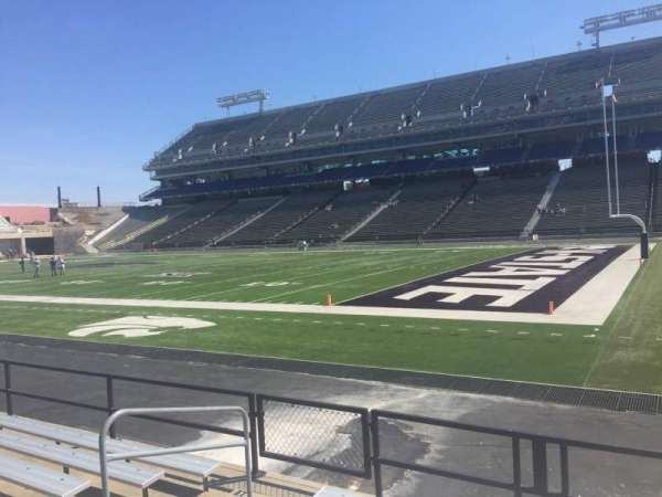 Bill Snyder Family Stadium, section: 9, row: 7, seat: 7