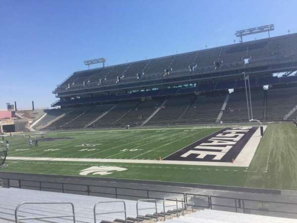 Bill Snyder Family Stadium, section: 9, row: 20, seat: 9
