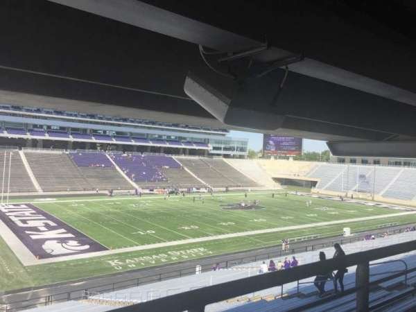Bill Snyder Family Stadium, section: 20, row: 45, seat: 14