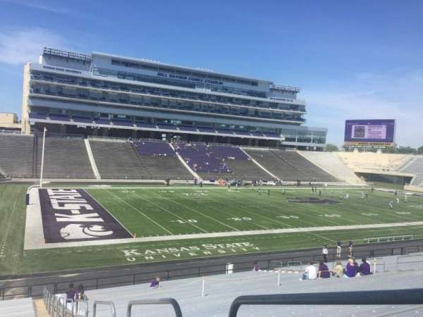 Bill Snyder Family Stadium, section: 20, row: 34, seat: 1