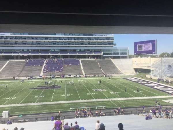 Bill Snyder Family Stadium, section: 25, row: 43