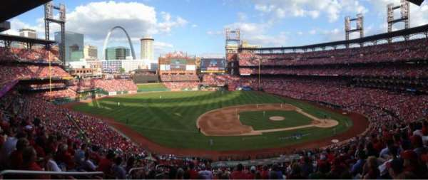Busch Stadium, section: 258, row: DR, seat: 5