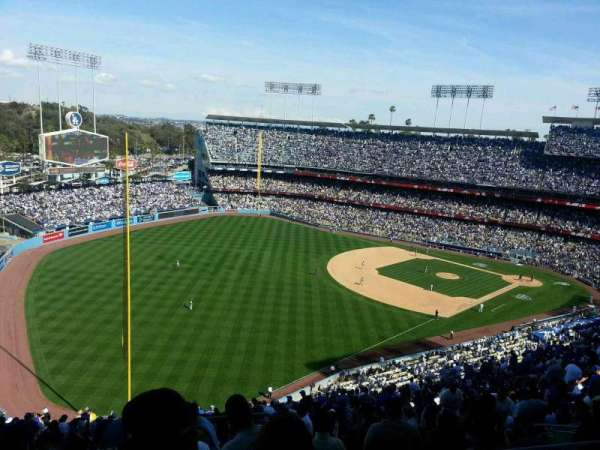 Dodger Stadium, section: 49RS, row: GG, seat: 1